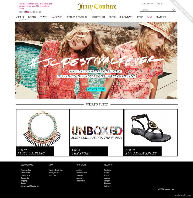 ecommerce website juicycouture