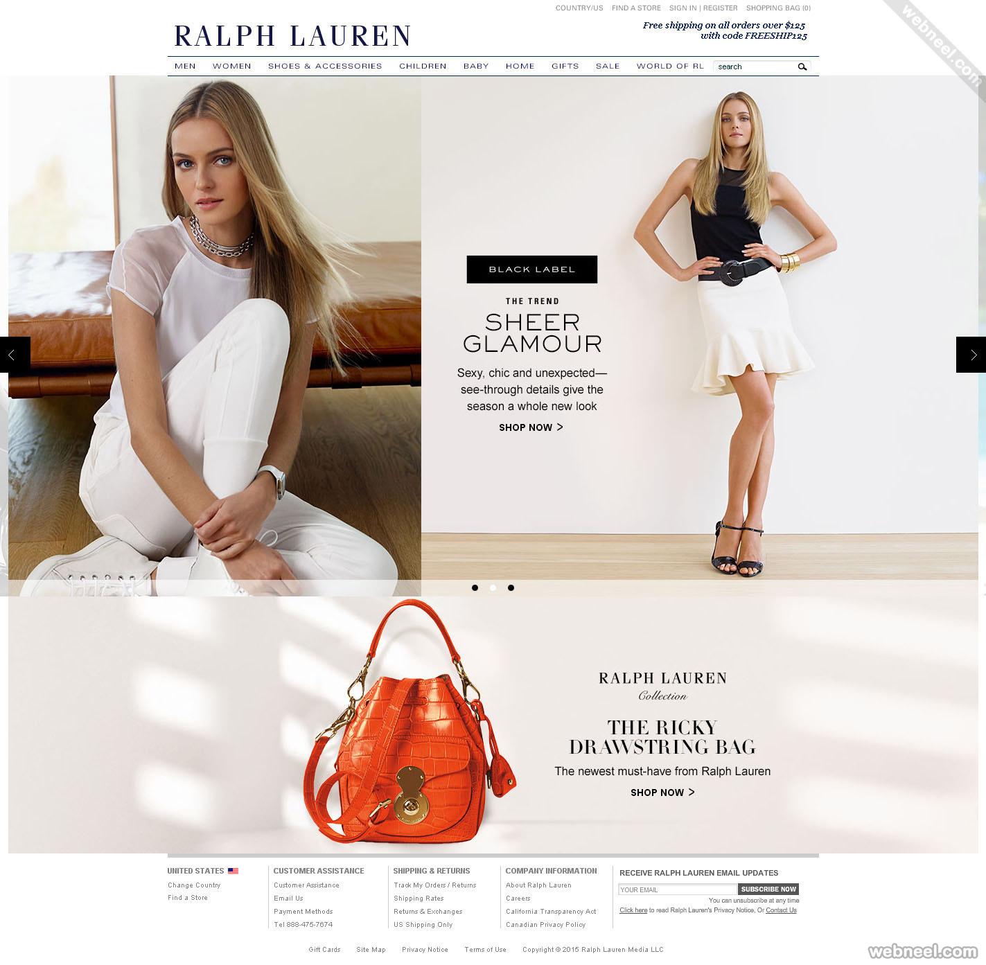 ecommerce website design ralphlauren