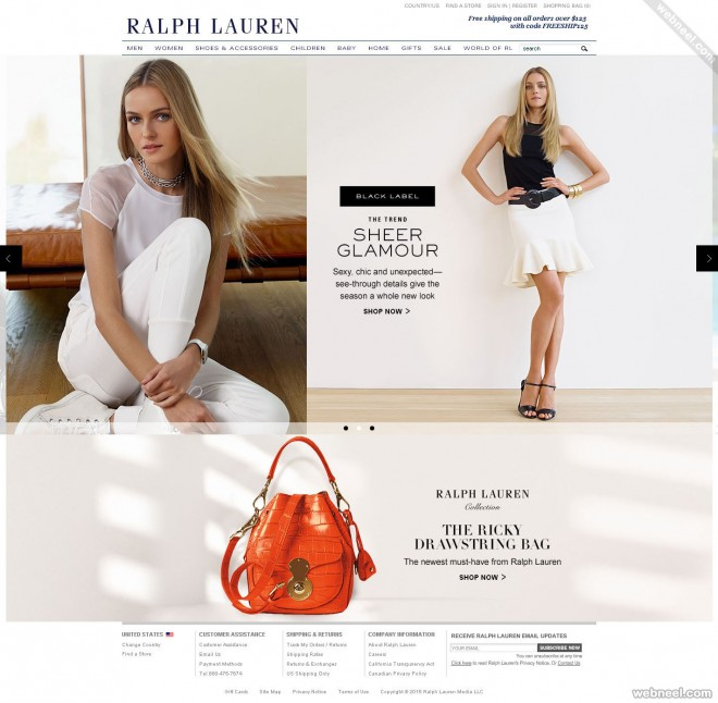 ecommerce website design ralphlauren