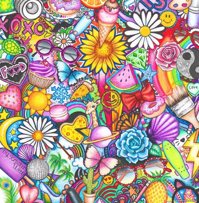 25 beautiful color pencil drawings and creative art works for How to make creative drawings