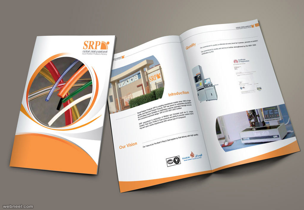 25 best brochure design examples and ideas for your for Furniture brochure design inspiration