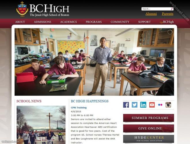 school website bchigh