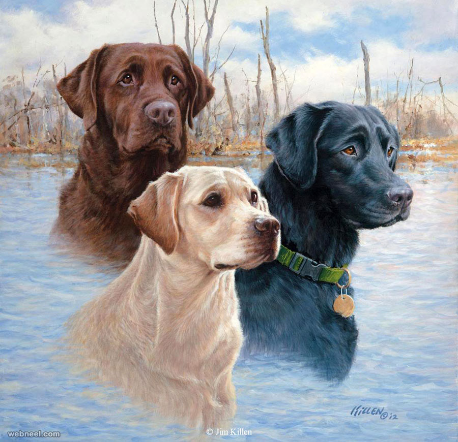 Dog Painting By Killen 8