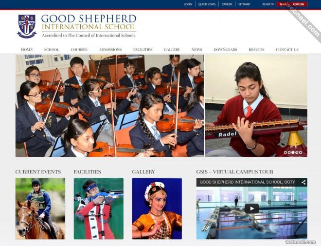 school website good shepherd