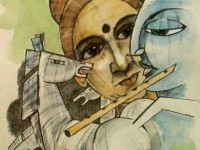 9-radha-krishna-indian-paintings-by-mukherjee
