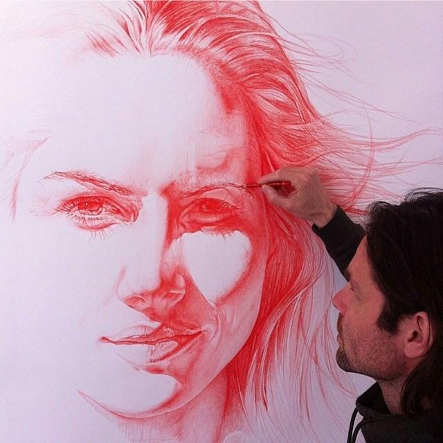 Color pencil drawing by daannoppen
