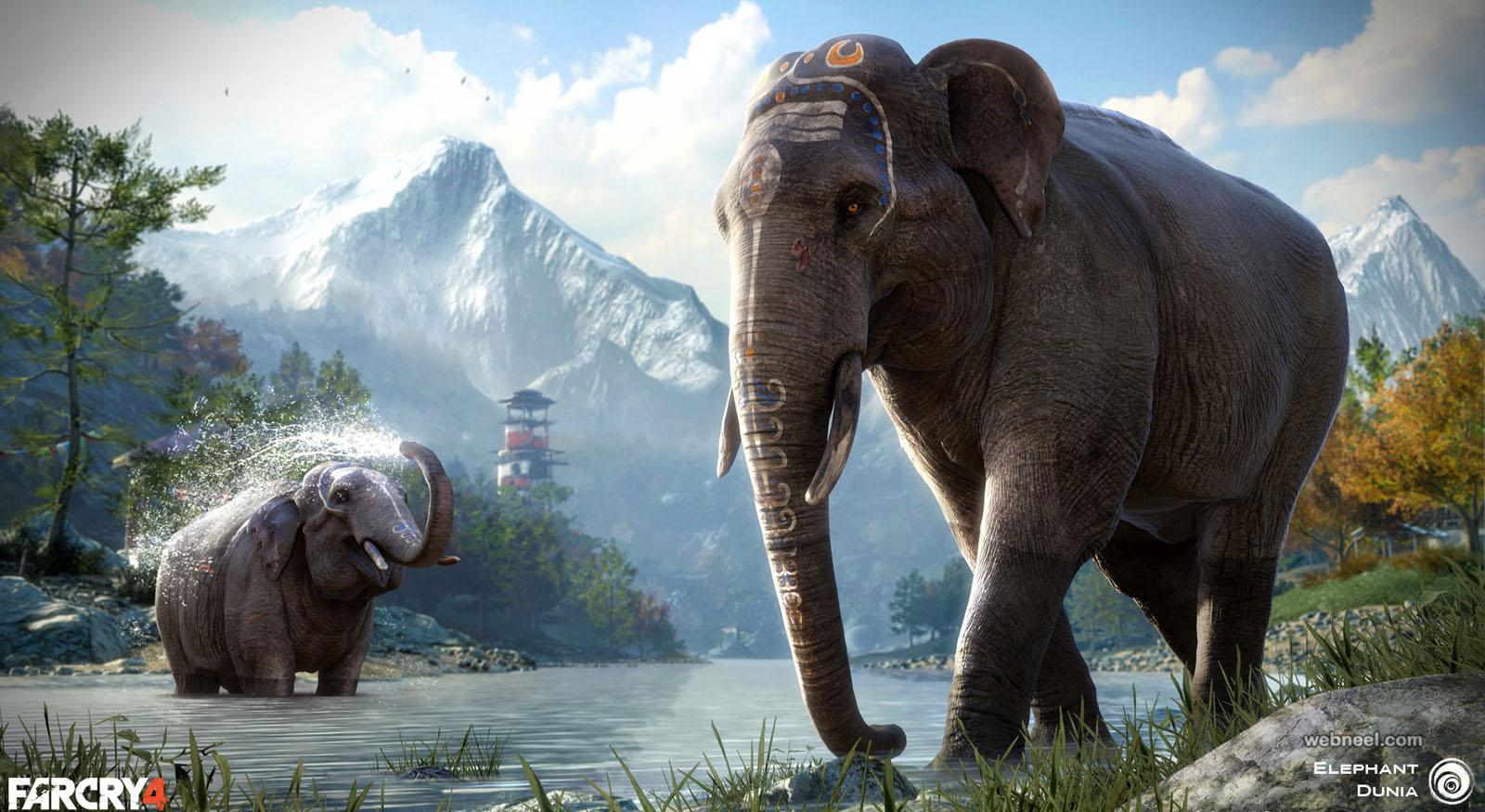 elephant zbrush 3d model by jason mark
