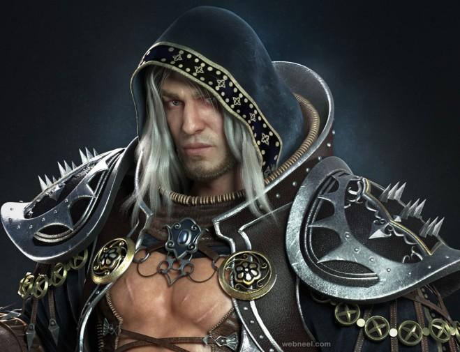 warrior zbrush model