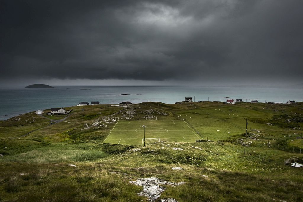 eriskay football scottish photographer of the year by andrew