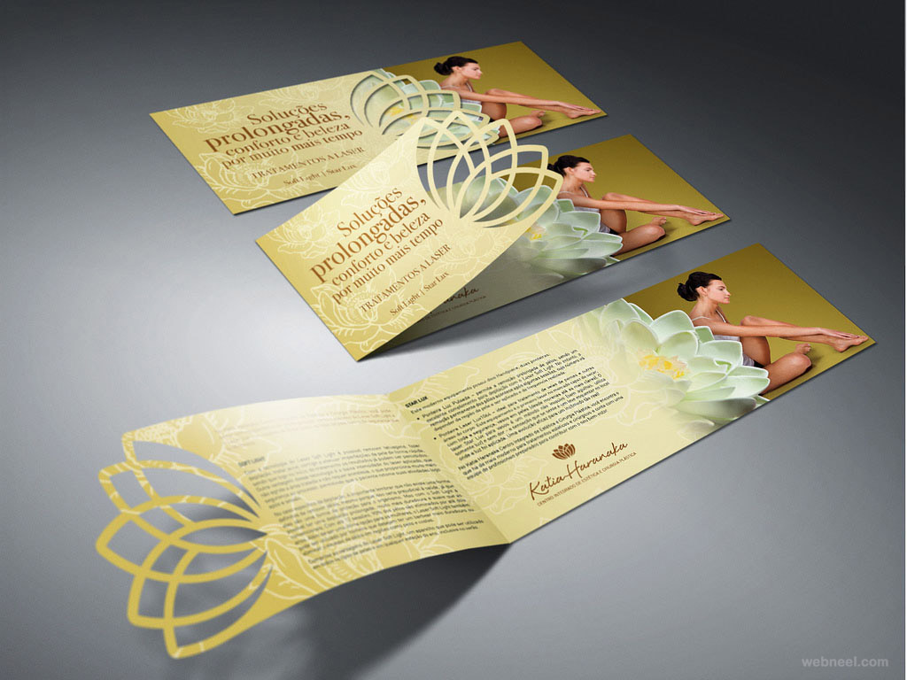 graphic design ideas for brochures creative corporate brochure