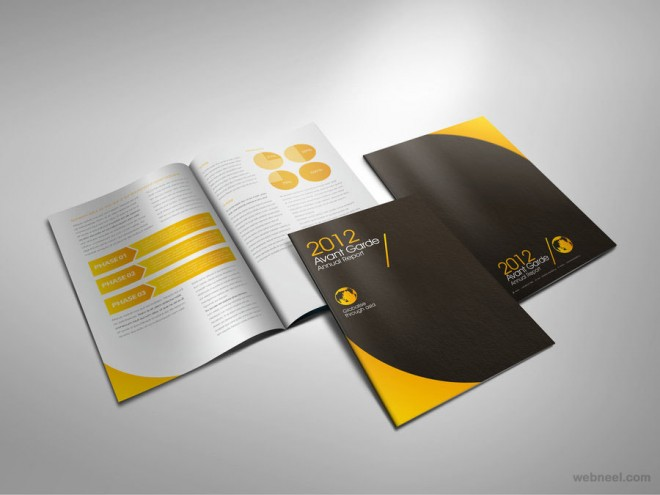 corporate brochure design inspiration corporate brochure design