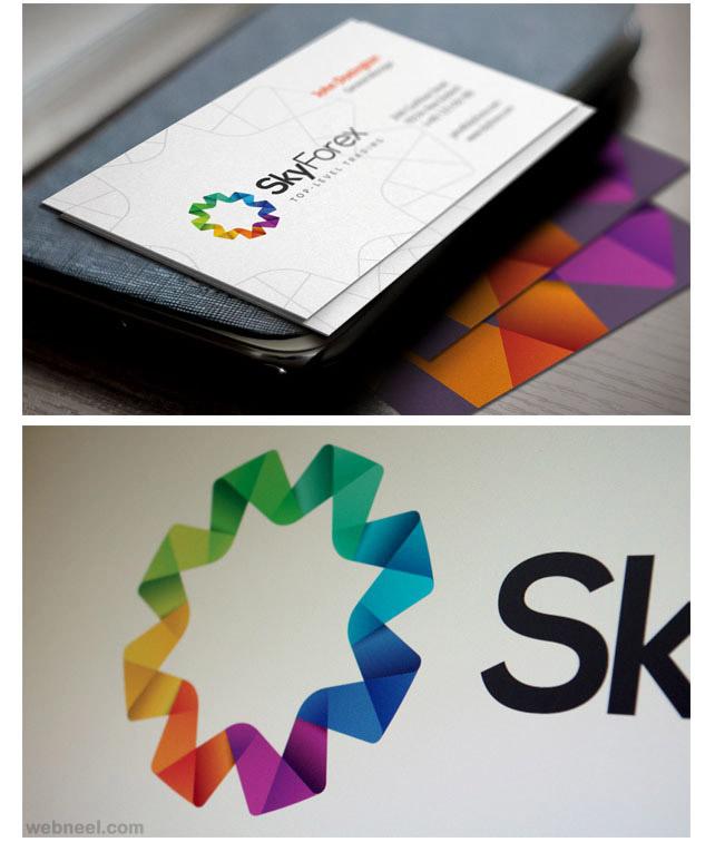 skyforex branding identity design