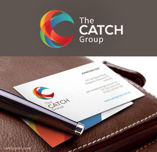 catch creative branding design
