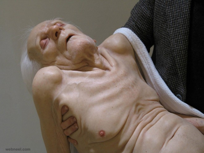 hyper realistic sculptures by sam jinks