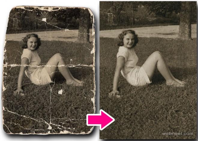 Restore old photos app