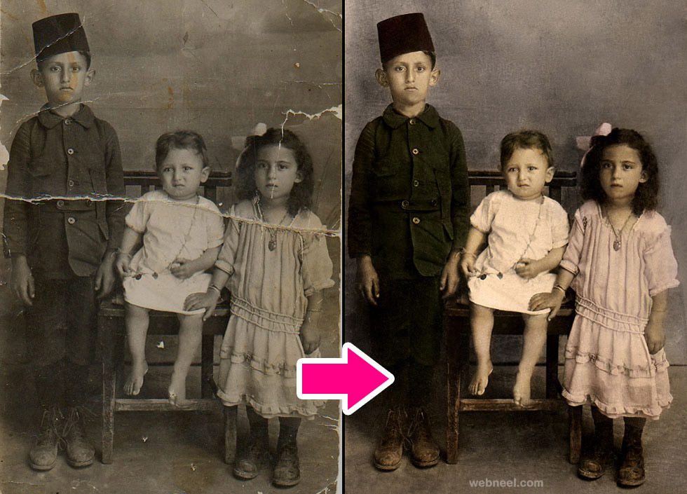 restore old photos 15