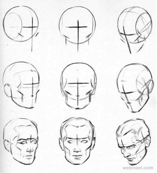 Drawing Lines In Qt : Face drawing