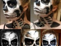 22-skeleton-face-painting