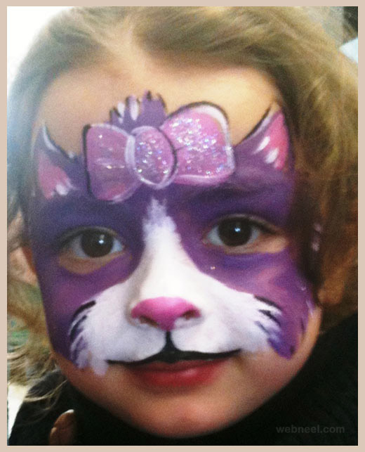 cat face paint