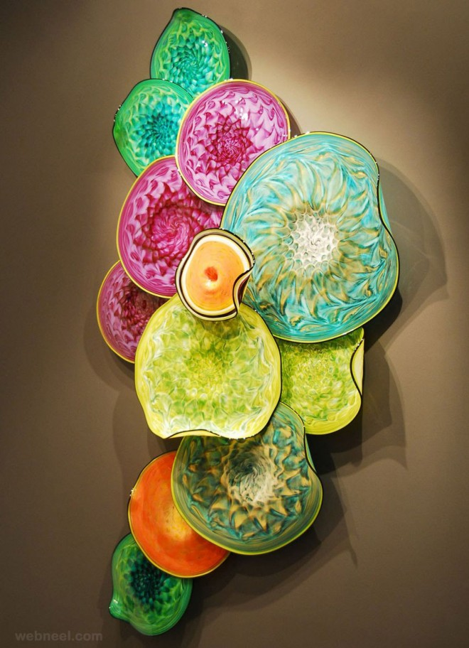 Beautiful glass sculpture ideas and hand blown