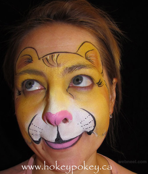 lion face paint 29
