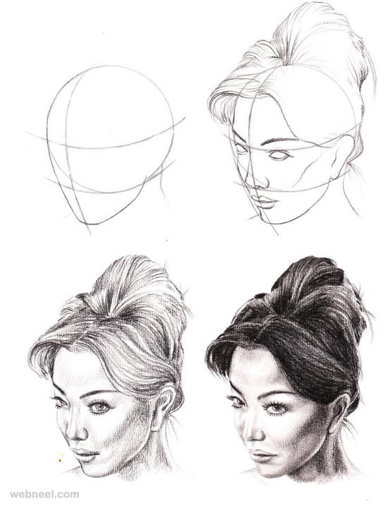 How to draw faces · drawing faces