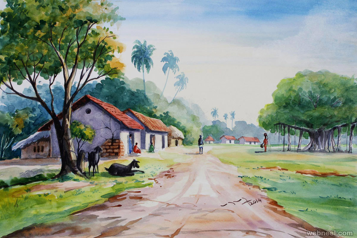 25 beautiful watercolor paintings by tanjore artist