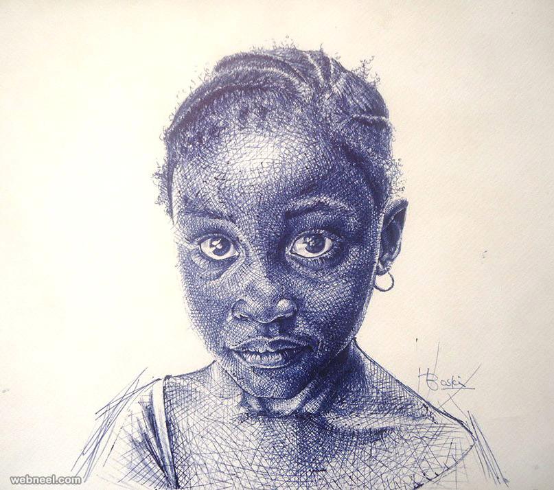 ballpoint pen drawings - photo #13