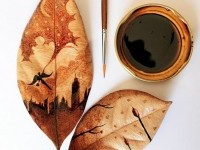 painting with coffee by Ghidaqal-Nizar