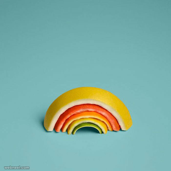 Rainbow fruit by sarah Illenberger