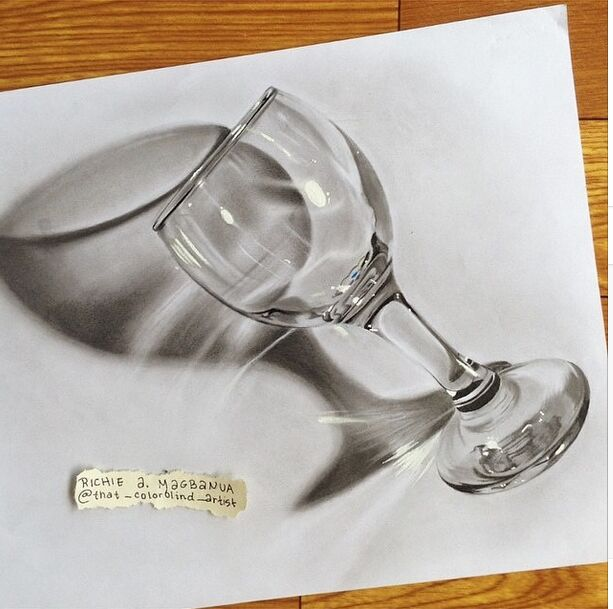 Realistic 3d drawing by Richie Magbanua
