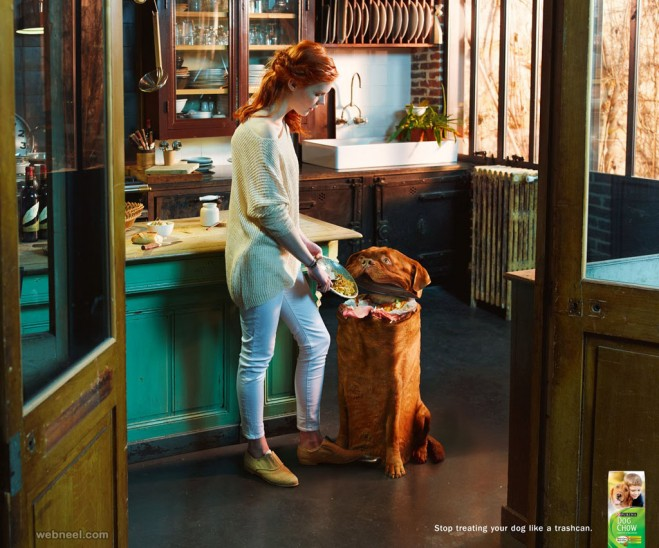 purina dog animal print ads