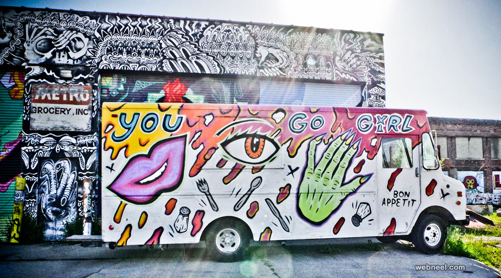 food truck art by charles hildebrandt