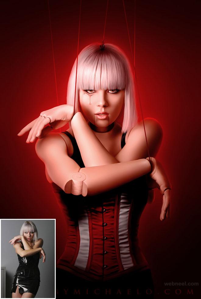 photo manipulation retouching