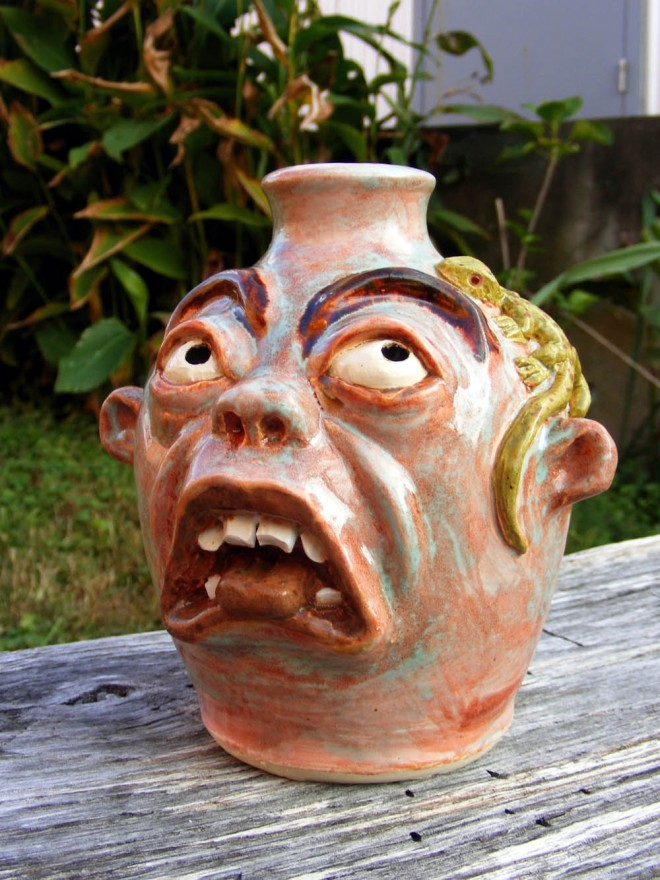 pottery sculpture by logan turner