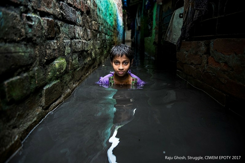 struggle environment photography by raju ghosh