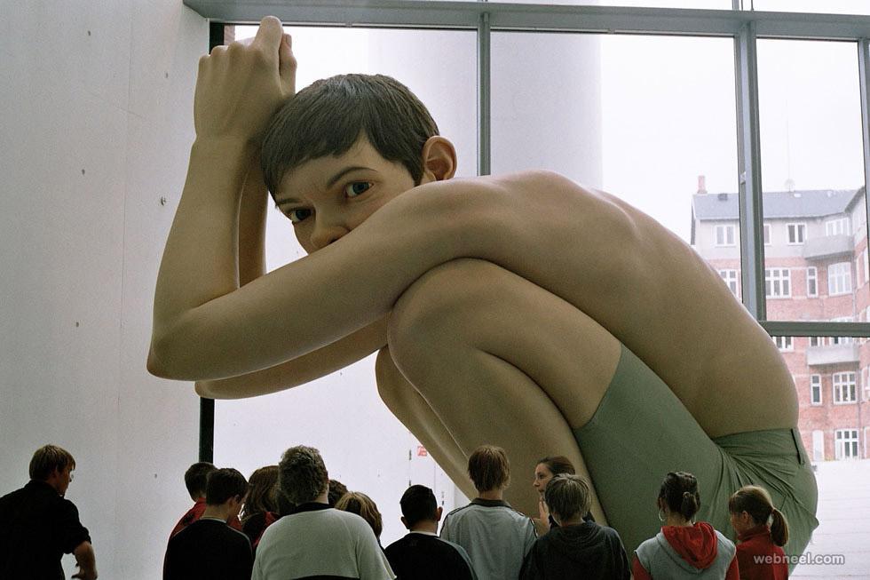 realistic human sculptures