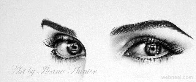 photorealistic pencil drawing