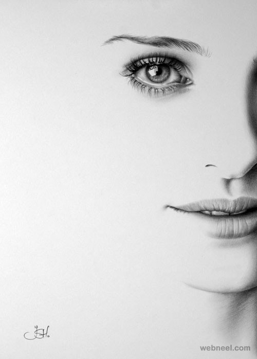 30 Hyper Realistic Pencil Drawings by Romanian Artist Ileana Hunter: webneel.com/30-hyper-realistic-pencil-drawings-romanian-artist...