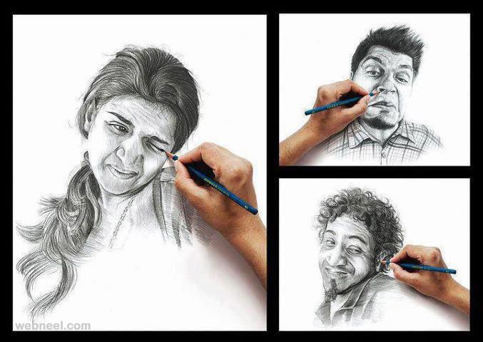 Pencil sketches with quotes quotesgram for Amazing drawing websites