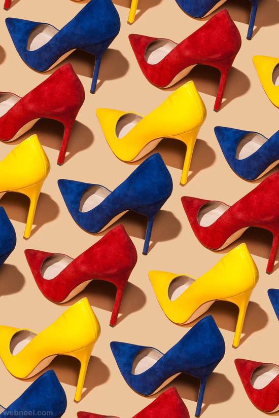 amazing colourful shoes