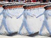 army marching