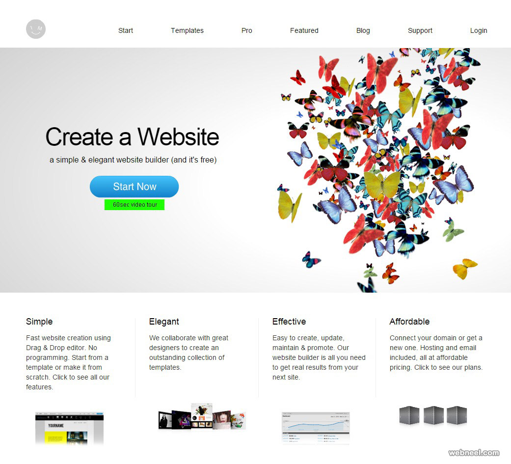 free website imcreator