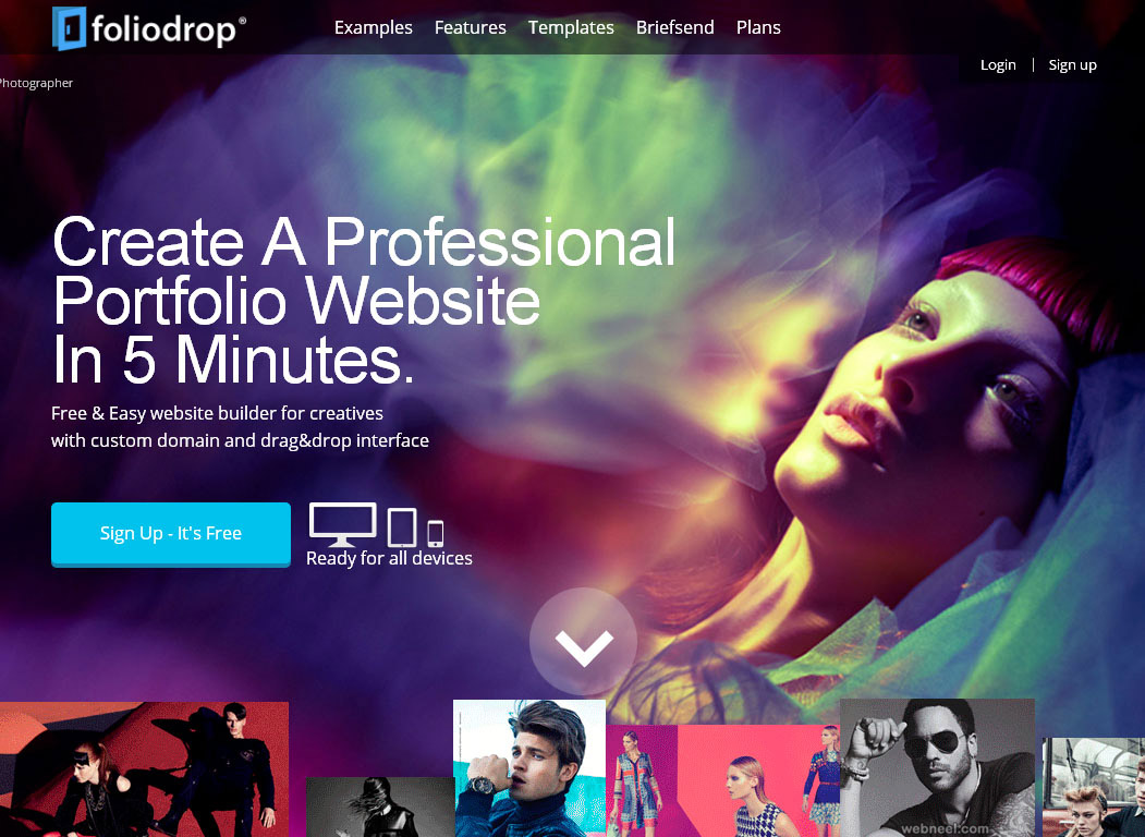 free website foliodrop