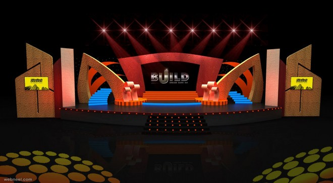 stage design by ajitkumar - Concert Stage Design Ideas