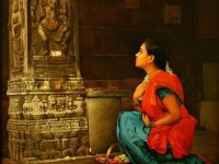 14-realistic-tamil-woman-painting-by-ilayaraja