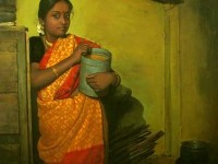 15-realistic-tamil-woman-painting-by-ilayaraja