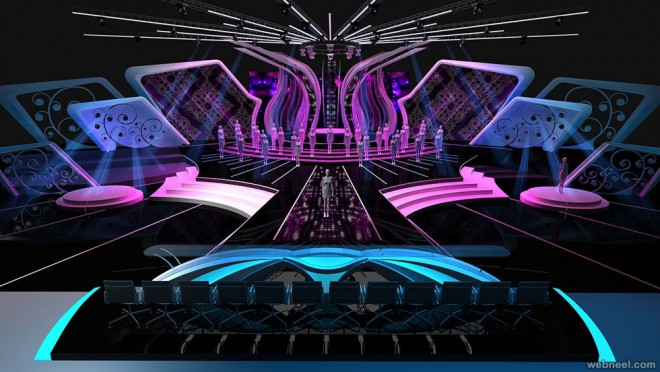 stage design by ibnuamali - Concert Stage Design Ideas