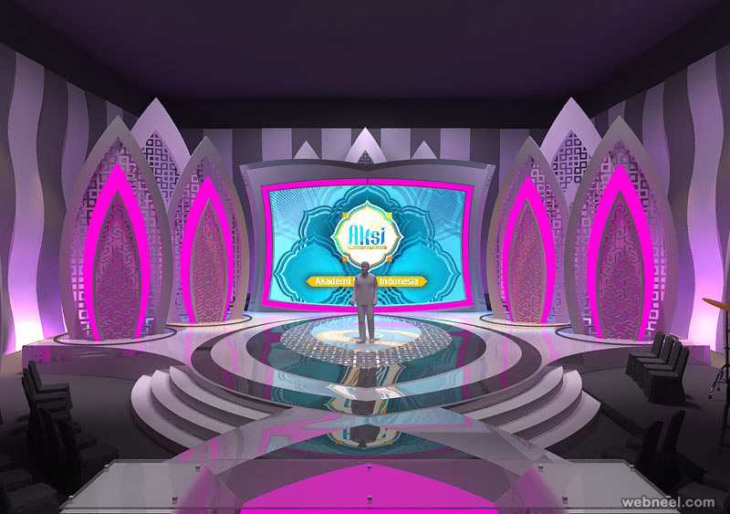 stage design by ibnuamali