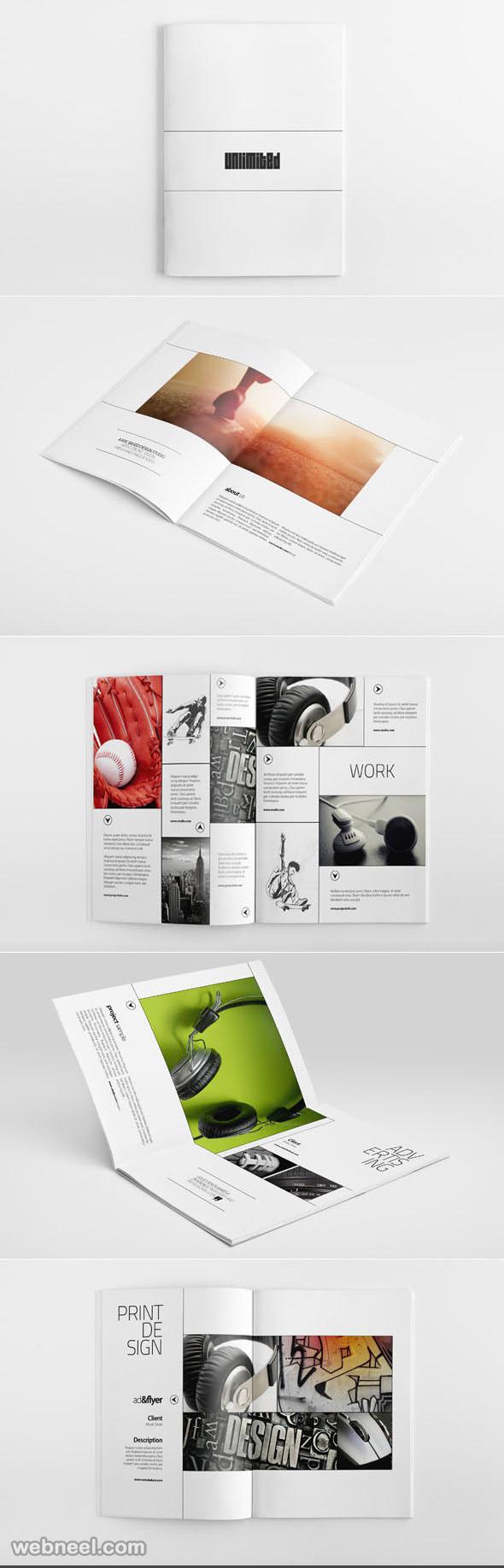 portfolio brochure design